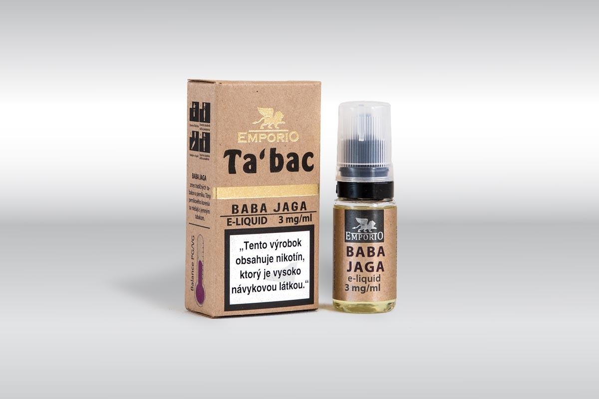 Produktové focení krabičky s lahvičkou Baba Jaga
