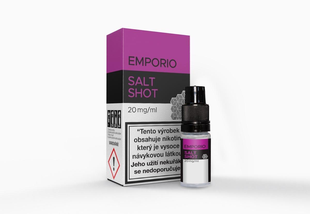 Produktové focení krabičky s lahvičkou Salt shot