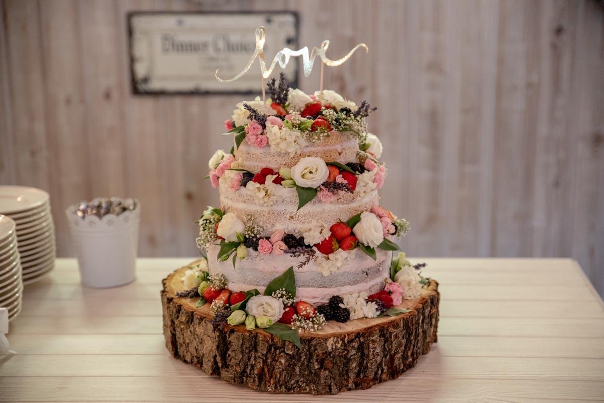Produktové focení svatební dort