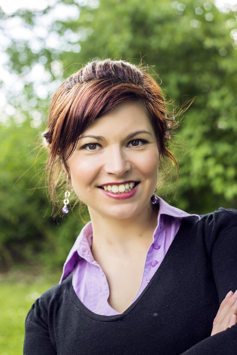 Jitka Tomešová - fotografování portrétu, výživová poradkyně
