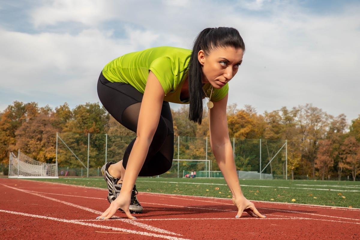 Sportovní portrét Lenka Yonová