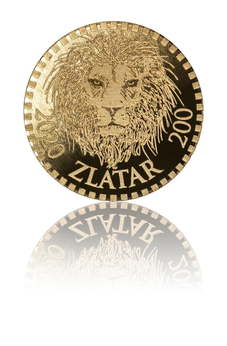 Produktové focení zlatých mincí Zlatar