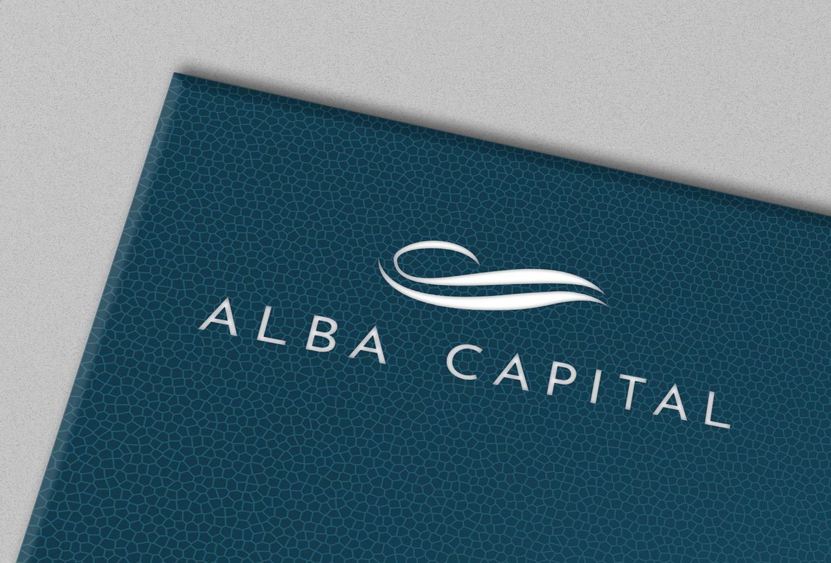 Grafický design loga Alba Capital