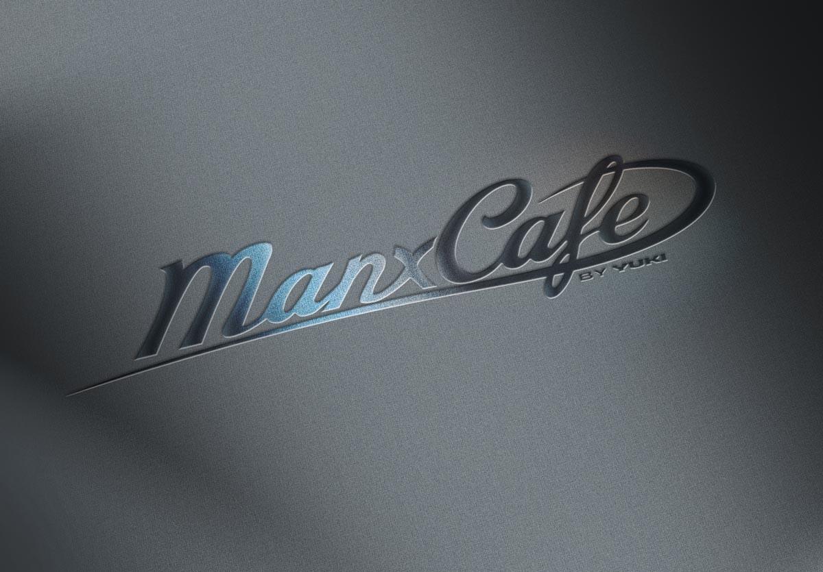 Grafický design loga ManxCafé