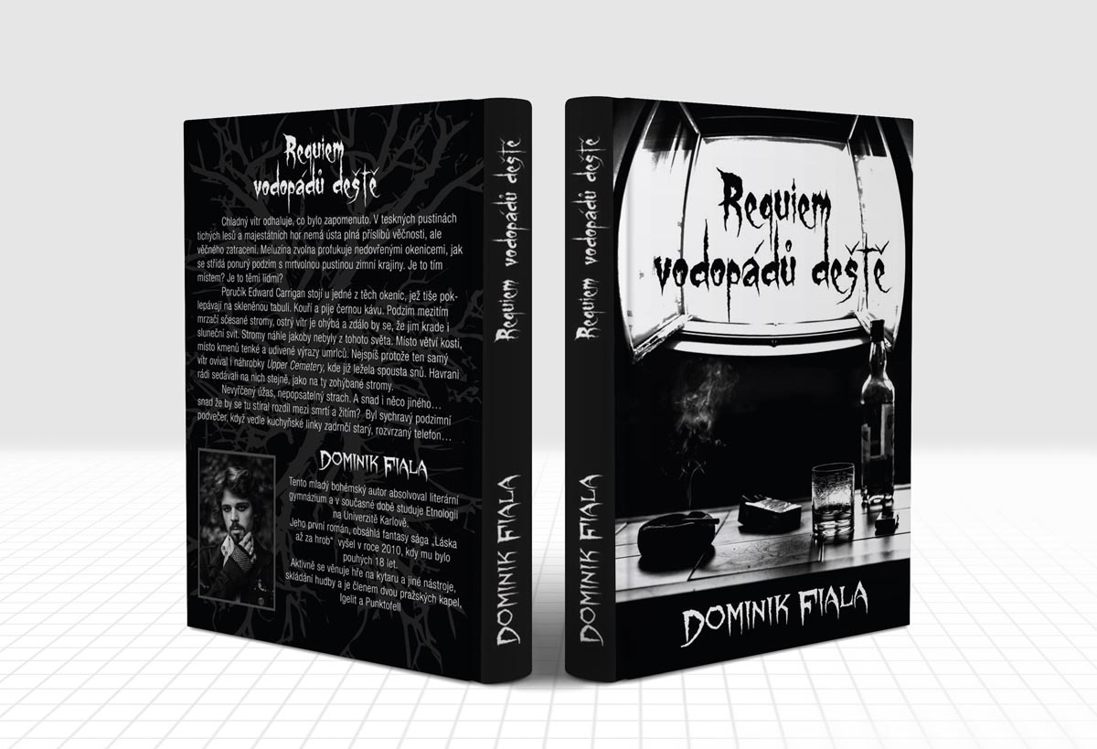 Obalka knihy Requiem vodopádu deste