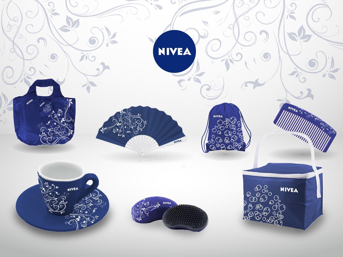 Vizualizace Nivea - montáž, návrhy Nivea