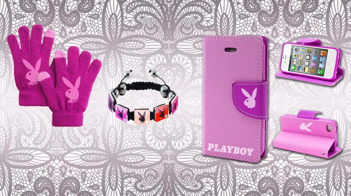 Vizualizace - Playboy pink - grafický návrh a vizualizace reklamních předmětů